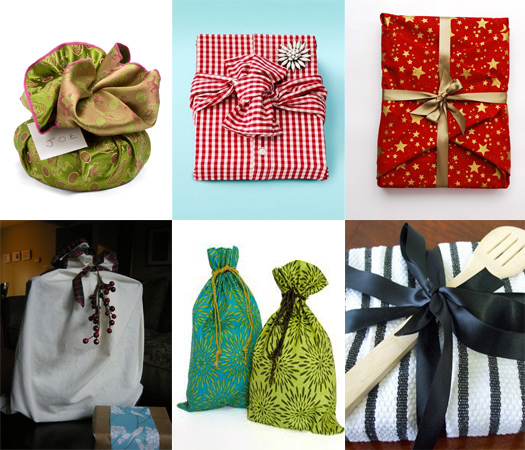 Use recyclable wrapping paper
