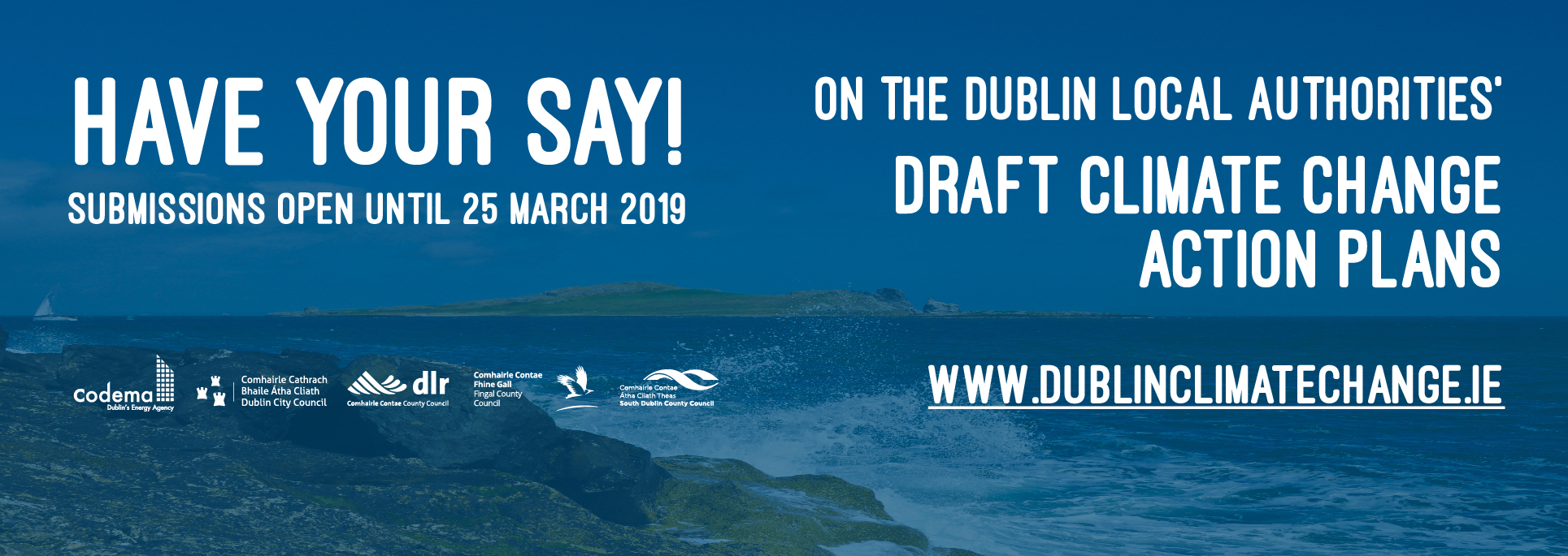Have your say on the Draft Climate Change Action Plans