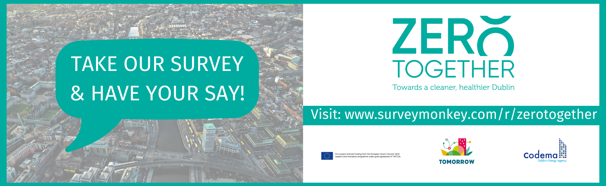 Take our survey and have your say!